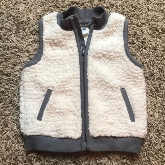 Old Navy Other - Old Navy faux sheep skin vest